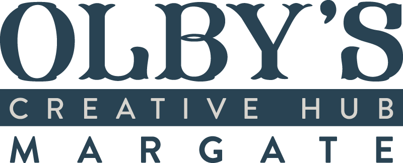 Olby's Soul Cafe Blue Logo and Home Link